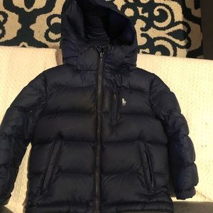 Polo coat size 4